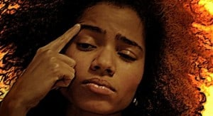 Nneka deep in thought