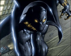 Black Panther - said to be first Black superhero in mainstream American comics