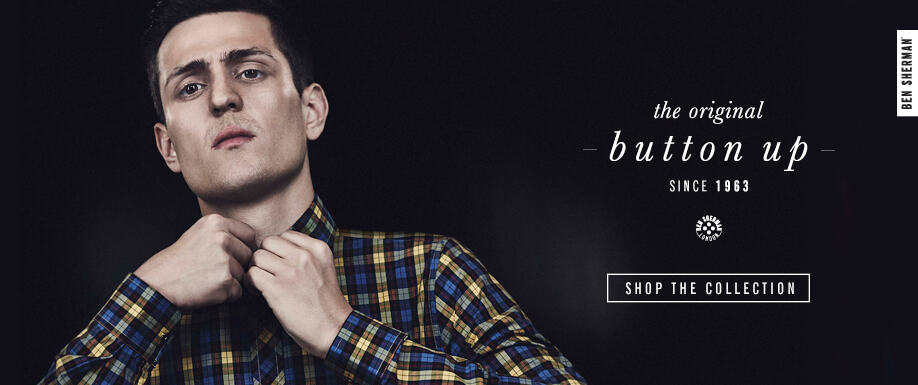 Button-up With Ben Sherman