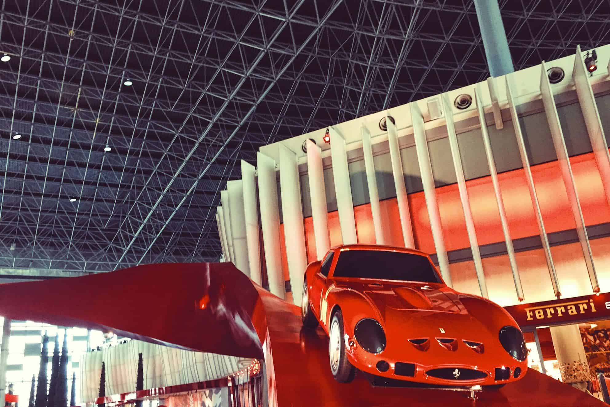 The Fast Lane At Ferrari World, Abu Dhabi