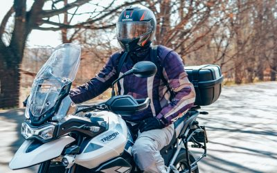 A day riding the Triumph Tiger 900s